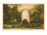Park in Baden-Baden, Germany Prints