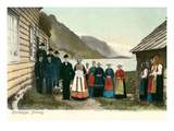 Traditional Wedding, Hardanger, Norway Prints