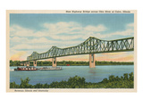 Bridge at Cairo, Illinois Posters