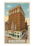 Hotel Warren, Indianapolis, Indiana Posters