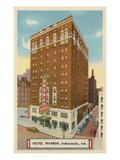 Hotel Warren, Indianapolis, Indiana Prints