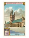 City Hall in Ypres, Belgium Prints