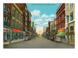 Central Avenue, Fort Dodge, Iowa Posters