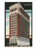 Hotel Washington, Indianapolis, Indiana Print