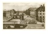Fredriksholms Canal, Copenhagen, Denmark Prints