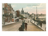 Boulevard Maritime, Le Havre, France Prints