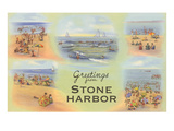 Greetings from Stone Harbor, New Jersey Poster