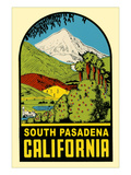 Decal of South Pasadena, California Posters