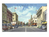 Downtown Oak Park, Illiniois Prints
