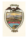 Idaho State Seal Posters