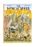 The New Yorker Cover - April 15, 2013 Giclee Print by Edward Sorel
