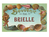 Souvenir from Brielle, New Jersey Prints