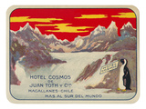 Hotel Cosmos, Magallanes, Chile Posters
