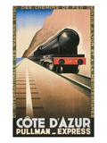 Cote d'Azur Pullman Express Prints