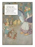 Mother Goose Rhyme, Animals Pósters