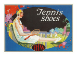 Ad for Tennis Shoes Prints