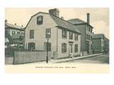 Nathaniel Hawthorne's Birth Place, Salem, Massachusetts Prints