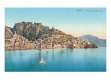 View of Amalfi Coast, Italy Poster