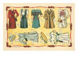 Mexican Paperdolls, Dresses Art