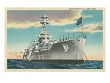 Battleship USS New York Posters