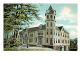 Town Building and Opera House, Littleton, New Hampshire Art