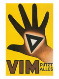 Vim Putzt Alles Poster Posters