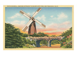 Dutch Windmill, San Francisco Print