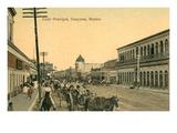Main Street, Guaymas, Mexico Print