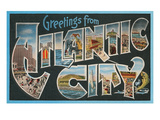 Greetings from Atlantic City, New Jersey Prints