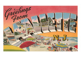 Greetings from Lavallette, New Jersey Prints