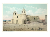 Old Isleta Church, New Mexico Print
