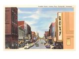 Franklin Street, Clarksville, Tennesee Prints