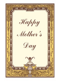 Happy Mother's Day, Decorative Border Prints