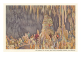Big Room, Carlsbad Caverns, New Mexico Posters
