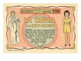 Mexican Paperdolls, La Novia Prints