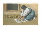 Indian Woman Making Rain Gods Prints