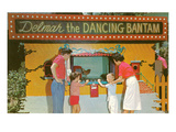 Delmar, the Dancing Bantam Print