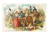 Battle of Monmouth, Molly Pitcher Art