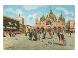 St. Mark's Basilica, Venice, Italy Art