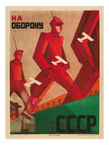 Soviet Defense Poster Prints