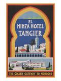 El Minza Hotel, Tangier, Morocco Poster