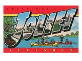 Greetings from Joliet, Illinois Art