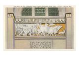 Pioneers Panel, State Capitol, Lincoln, Nebraska Kunstdrucke