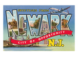 Greetings from Newark, New Jersey Prints