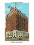 Hotel Claridge, Memphis, Tennessee Prints