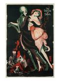 Dance of Death, Skeleton Kunstdruck