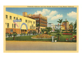 Cinderella Ballroom, Long Beach, California Prints