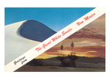 Greetings from White Sands, New Mexico Prints