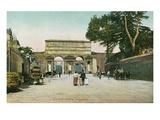 Porta Maggiore, Rome, Italy Posters