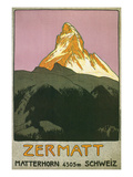 Zermatt, Matterhorn, Switzerland Prints